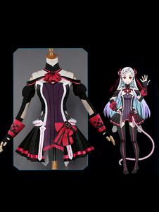 Disfraz Carnaval Inspirado por Sword Art Online La película Escala ordinal SAO Yuna Shigemura Cosplay Traje de batalla Carnaval