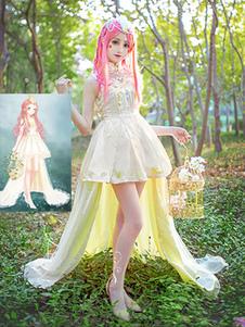 Любовь Никки Никки Косплей игра Аниме Kawaii Princess Lolita Платье вечернее платье Хэллоуин