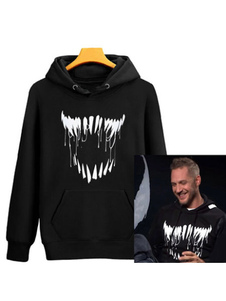 Carnevale Felpa con cappuccio Venom Felpa con cappuccio 2020 Movie Marvel Comics Halloween
