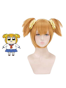 Carnaval Pop Team Epic Popuko Halloween Cosplay Peluca