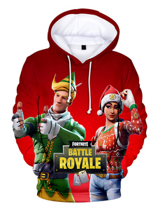 Moletom Com Capuz 2020 Elegante Pelo Hoodie Do Natal De Fortnite Halloween