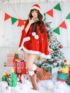 Natal Poncho Capa Papai Noel Traje Mulheres Com Capuz Capa Ups Halloween