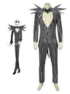 Carnevale The Nightmare Before Christmas Jack Skellington Costume cosplay di Halloween