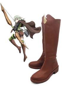 Carnaval Goblin Slayer High Elf Archer, zapatillas de cosplay de Halloween