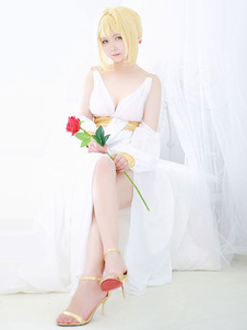 Fate Extra Sabre Nero Пижамы Onesie Версия Хэллоуин Косплей Костюм