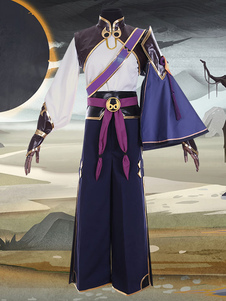 Destino Grande Ordem FGO Príncipe De Lanling Halloween Traje Cosplay