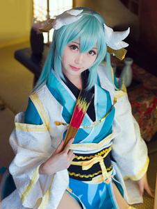 Fate Grand Order FGO Kiyohime Хэллоуин Косплей Парик