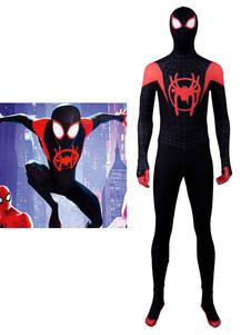 Carnevale Costume Cosplay Zentai Halloween 2020 Spider Man Into The Spider Verse Spider Man