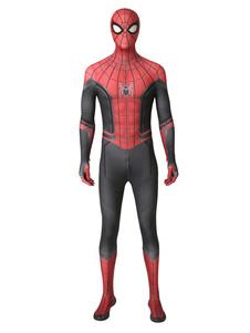 Человек-паук вдали от дома Хэллоуин Косплей Костюм Deluxe Edition