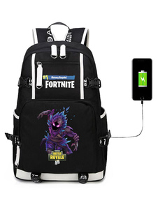 Carnevale Fortnite Backpack Gioco Battle Royale School Bag Camping Hiking Halloween