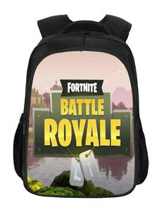 Carnevale Fortnite Game Backpack For School Girls Boys Cool Bookbag Outdoor Daypack Halloween