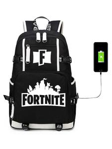 Fortnite Jogo Battle Royale Mochila Para Meninos Saco de Escola Camping Caminhadas Halloween