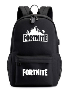 Carnevale Fortnite Classic Zaino per ragazzi Gioco Battle Royale School Bag Camping Hiking Halloween