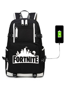 Carnevale Fortnite Game Battle Royale Zaino per ragazzi Cool School Bag Camping Hiking Halloween