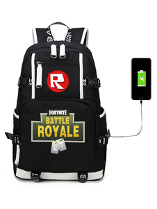 Carnevale Fortnite Backpack For Boys Gioco Battle Royale School Bag Camping Hiking Halloween