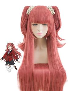 Carnaval Kakegurui jugador compulsivo Yumemite Yumemi Halloween cosplay peluca