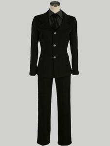 عيد الرعبمصير: صفر تأثيري اليابانية أنيمي صابر بدلة سوداء الموحدة تأثيري حلي