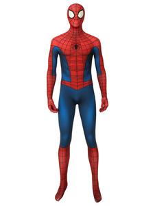 Homem Aranha Cosplay Homem Aranha: Into The Spider Verso Filme Peter Parker Cosplay Suit Halloween