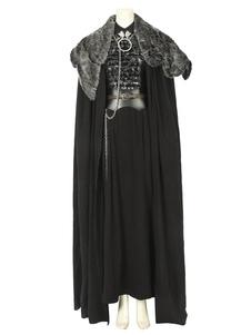 Carnevale Costume Cosplay di Film & TV 2020 Game Of Thrones Stagione 8 Costume cosplay in cotone e lino con 8 pezzi di Sansa Stark Halloween