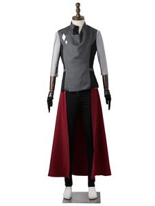 Анимационные костюмы для косплея SAKURABA RYOTA Серая униформа из ткани