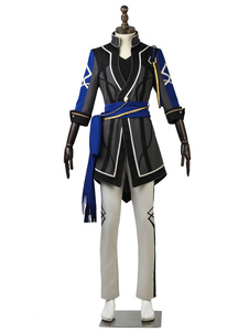 Conjunto de estrelas Cosplay cinza Saegusa Ibara uniforme pano Outfit