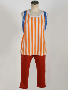 One Piece Cosplay Tony Chopper Sarja Outfit Laranja Adultos Cospaly Outfit