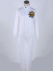 One Piece Cosplay Kid Sarja Outfit Branco Adultos Cospaly Outfit