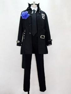 Disfraz Carnaval Vocaloid Cosplay Secret Police Kaito Disfraz de Cosplay Carnaval
