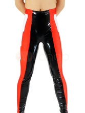 Black & Red Pattern Shiny Metallic Wrestling Unisex Trousers Bottom