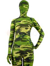 Morph Suit Halloween Full Body Lycra Spandex Camouflage Zentai Suit Morphsuits Halloween