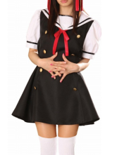 Anime Costumes AF-S2-12941 Short Sleeves Sailor Cosplay School Uniform