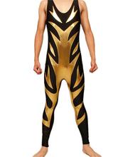 Anime Costumes AF-S2-22080 Halloween Shiny Metallic Wrestling Singlet