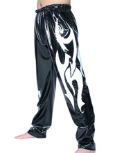 Anime Costumes AF-S2-22088 Halloween Black White Pattern PVC Wrestling Pants