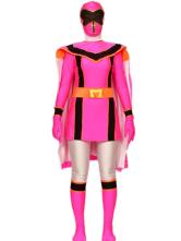 Power Rangers Lycra Spandex fantasia de Super herói Halloween