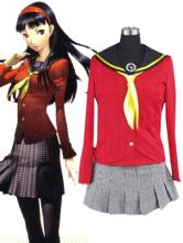 Anime Costumes AF-S2-24375 Shin Megami Tensei: Persona 4 Yukiko Amagi Cosplay Costume