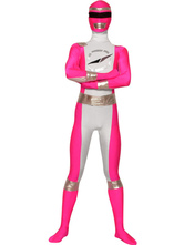 Pink Power Rangers Zentai Suit Carnival Super Hero Costume  Carnival