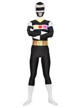 Faschingskostüm Spezieller Power Rangers Zentai aus Elastan in Multifarben