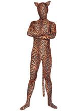 Anime Costumes AF-S2-23610 Tiger Zentai Suit Halloween Lycra Spandex Animal Costume