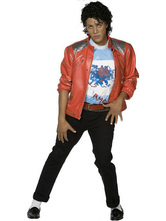 Michael Jackson Beat It Jacket Cosplay Costume Halloween