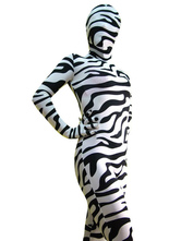 Anime Costumes AF-S2-25560 Zebra Print Zentai Suit Halloween Lycra Spandex Animal Costume