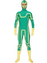 Anime Costumes AF-S2-30205 Halloween Green Unisex Lycra Zentai Suit