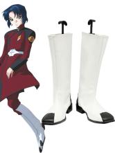 Halloween Botas de Athrun Zala para cosplay de Mobile Suit Gundam SEED