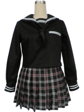 Anime Costumes AF-S2-34172 Black Long Sleeves Sailor School Uniform Cosplay Costume