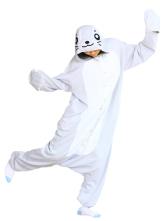 Bonito traje Pleuche Seal Kigurumi