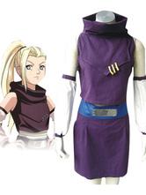 Traje de color púrpura de Ino Yamanaka para cosplay de Naruto  Halloween