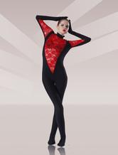Disfraz Carnaval Zentai de color-blocking de elastano de marca LYCRA  Halloween