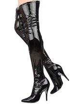 Stivali sexy alla coscia neri