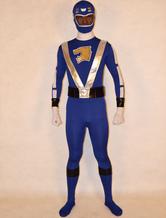 Anime Costumes AF-S2-141816 Blue Super Sentai Lycra Spandex Unisex Zentai Suit