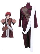 Naruto Gaara 3th Cotton Polyester Cosplay Costume Halloween