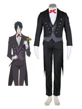 Anime Costumes AF-S2-49146 Black Butler Roame Sebastian Cosplay Costume